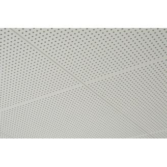 Перфорована гіпсова плита Danoline Belgravia ППГЗ круглі отвори 6/15 мм 600x600x12,5 мм