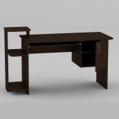 Комп'ютерний стіл Компанит СКМ-3 1418х600х751 мм венге