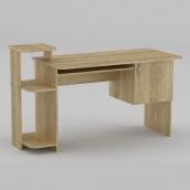 Комп'ютерний стіл Компанит СКМ-3 1418х600х751 мм дуб сонома