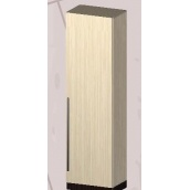 Шкаф Мастер Форм Арья 550х380х1950 мм венге темный/дуб молочный