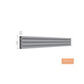 Карниз фасадный Тимис 2000x120x30 мм из армированного пенопласта арт 00278