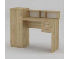 Письменный стол Компанит Пи-Пи-1 1175х550х736 мм дуб сонома