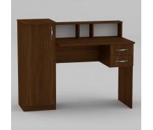 Письмовий стіл Компанит Пі-Пі-1 1175х550х736 мм горіх