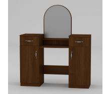 Туалетный столик Компанит Трюмо-2 1180х1390х390 мм орех