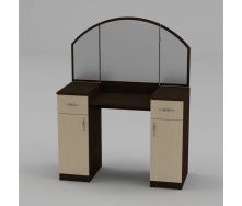 Туалетный столик Компанит Трюмо-4 1010х1300х420 мм венге
