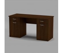 Письменный стол Компанит Учитель-2 1400х600х736 мм орех