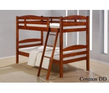 Двухъярусная кровать ONDER MEBLI DD Cosmos 1000х2000х1680 мм орех