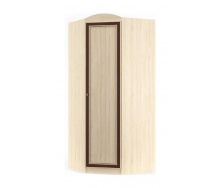 Угловой шкаф Мебель-Сервис Дисней 1Д 910х565х2180 мм дуб светлый