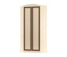 Угловой шкаф Мебель-Сервис Дисней 2Д 910х377х2180 мм дуб светлый