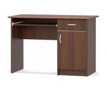 Письмовий стіл Мебель-Сервіс 1-тумбовий МДФ 755х1100х500 мм горіх