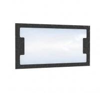 Дзеркало БМФ Верона МР-2448 1000х550х20 мм лілія біла / чорна лак / венге темний