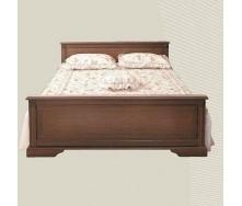 Кровать двуспальная БМФ Росава КТ-530 1690х790х2090 мм орех артемида