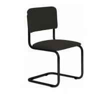 Офисный стул АМF Квест черный Скаден 570х470х810 мм черный лак