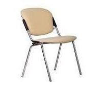 Офисный стул АМF Рольф Скаден бежевый светлый 540х600х820 мм хром