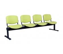 Офісний стілець АМF Ізо-4 Неаполь N-34 598х780х2390 мм чорний