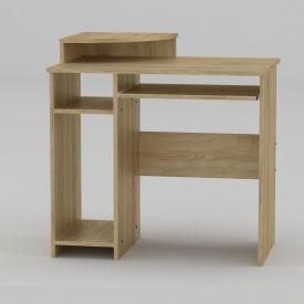 Комп'ютерний стіл Компанит СКМ-1 820х600х736 мм дуб сонома