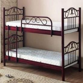 Двухъярусная кровать ONDER MEBLI RN 001 RANA 900х1900 мм бордо