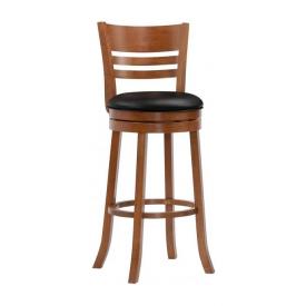 Барний стілець ONDER MEBLI 9393 760(1130)x420х430 мм шоколад