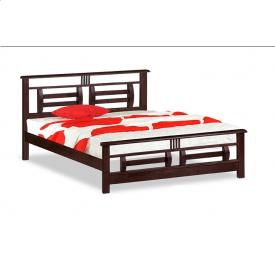 Кровать ONDER MEBLI DB 7500(О) 1600х2000 мм вишня