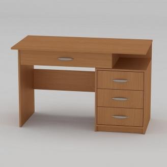 Письмовий стіл Компанит Студент-2 1200х600х750 мм бук
