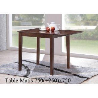 Обідній стіл ONDER MEBLI Matis горіх