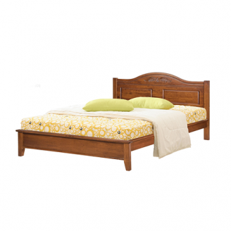 Кровать ONDER MEBLI DB 5122(D) 1600х2000 мм вишня