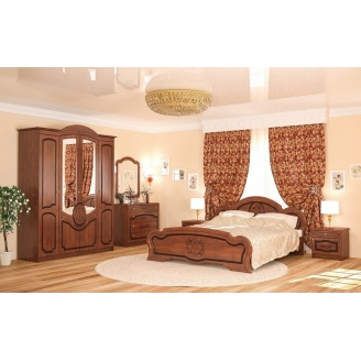Спальня Меблі-Сервіс Бароко 4Д вишня