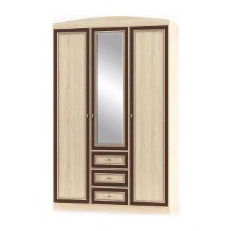 Шкаф Мебель-Сервис Дисней 3Д3Ш 1348х565х2180 мм дуб светлый