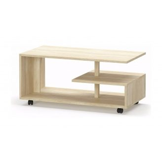 Стол журнальный Мебель-Сервис Турин 482х1190х592 мм дуб самоа