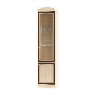 Пенал Мебель-Сервис Дисней 1В1Д 500х377х2180 мм дуб светлый