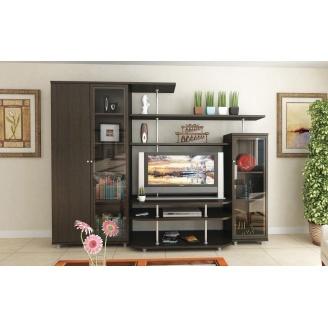 Гостинная Мебель-Сервис Рио-3 1706х2300х550 мм венге темный