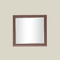 Зеркало БМФ Росава МР-2102 980х870х60 мм орех артемида