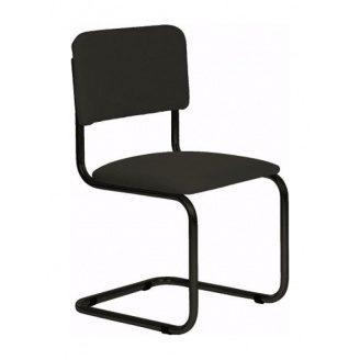 Офісний стілець АМF Квест чорний Скаден 570х470х810 мм чорний лак