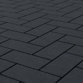 Клінкерна бруківка Керамейя БрукКЕРАМ Класика БАЗАЛЬТ ПВ-1 М-650 200х100х45 мм