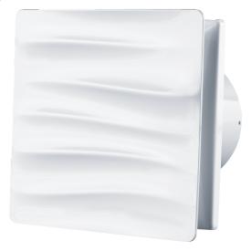 Вентилятор ВЕНТС Вэйв 100 энергосберегающий осевой 85 м3/ч 160х160 мм белый