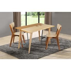 Комплект мебели Лофт Дублин-Рондо стол и два стула деревянные