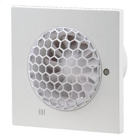 Вентилятор ВЕНТС Квайт 100 С TH энергосберегающий осевой 99 м3/ч 175х175 мм белый