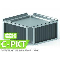 C-PKT теплоутилизатор пластинчатый канальный прямоугольный