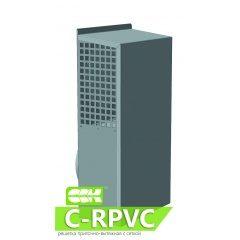 C-RPVC решетка приточно-вытяжная с сеткой для круглых каналов