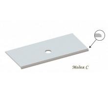 Столешница из литого камня мрамора Snail Медея 900х550 мм