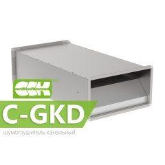 C-GKD шумоглушитель канальный прямоугольный