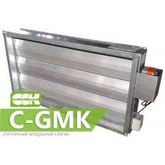 C-GMK клапан воздушный утепленный прямоугольный