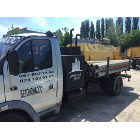 Аренда стационарного бетононасоса PUTZMEISTER 40 м3/ч 10-80 м