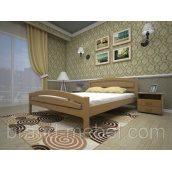 Дерев'яне ліжко ТИС Модерн 2 дуб 120х200