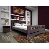 Дерев'яне ліжко ТИС Атлант 9 дуб 160х200
