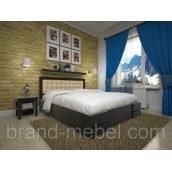 Деревянная кровать ТИС Кармен дуб 140х200