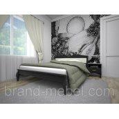 Деревянная кровать ТИС Корона 3 дуб 90х200