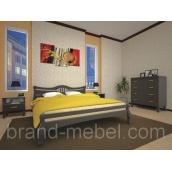 Деревянная кровать ТИС Корона 1 сосна 140х200
