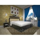 Деревянная кровать ТИС Кармен дуб с подьемным механизмом 120х200