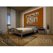 Деревянная кровать ТИС Юлия 1 сосна 120х200